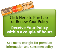 Click here to Purchase or Renew your policy